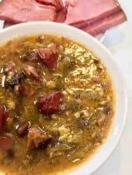 How to make Pressure Cooker Low Carb Ham and Bean Soup