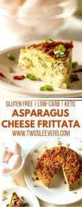 Asparagus Cheese Frittata