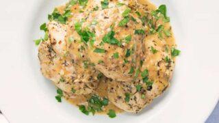 Low Carb Garlic Chicken Recipe