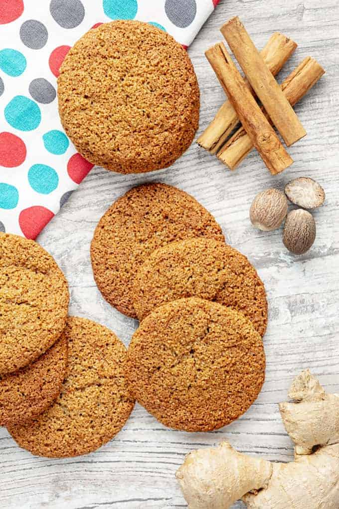 Keto Ginger Cookie Recipe
