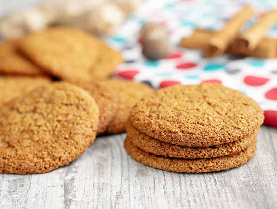 Ginger Cookie Recipe Quick And Easy Keto Cookies Twosleevers Com