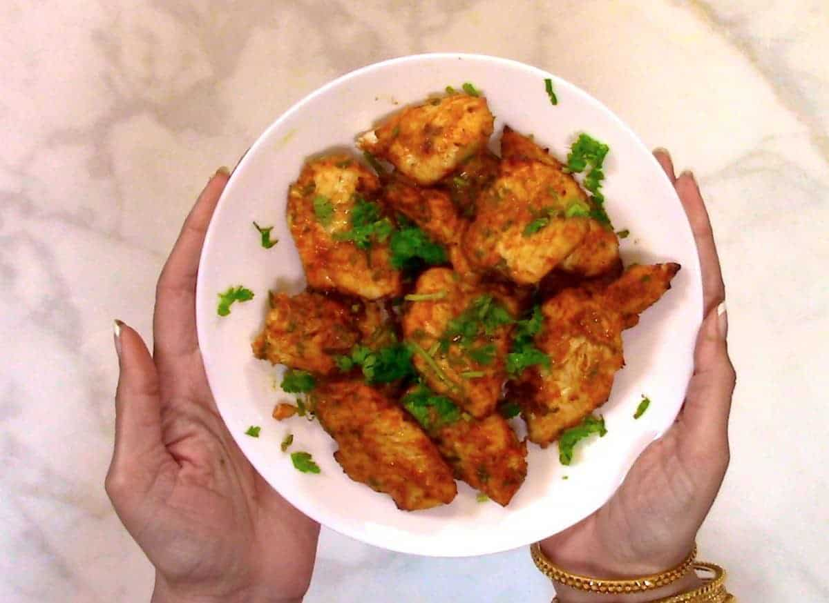 Keto Air Fryer Tandoori Chicken Two Sleevers