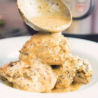 french garlic chicken