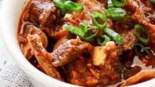 Instant Pot Kimchi Jjigae | Korean Beef Stew
