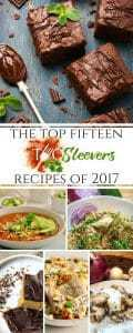 Top Fifteen two sleevers recipes of 2017