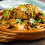 Chicken Karahi Side Shot