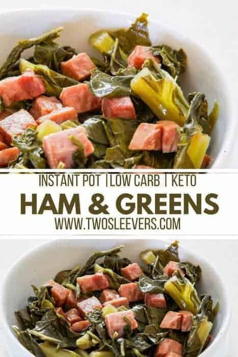 Pressure Cooker Low Carb Ham And Greens Recipe