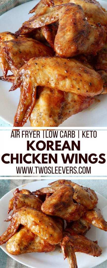 Air Fryer Korean Chicken Wings   Air Fryer Wings   Keto Wings   Keto Korean   Keto Appetizer Recipe   Low Carb Korean Recipe   #airfryerrecipe #ketowings #ketorecipe #ketoappetizer