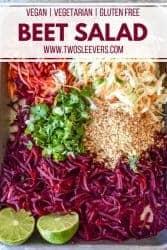 Beet Salad Pinterest Image