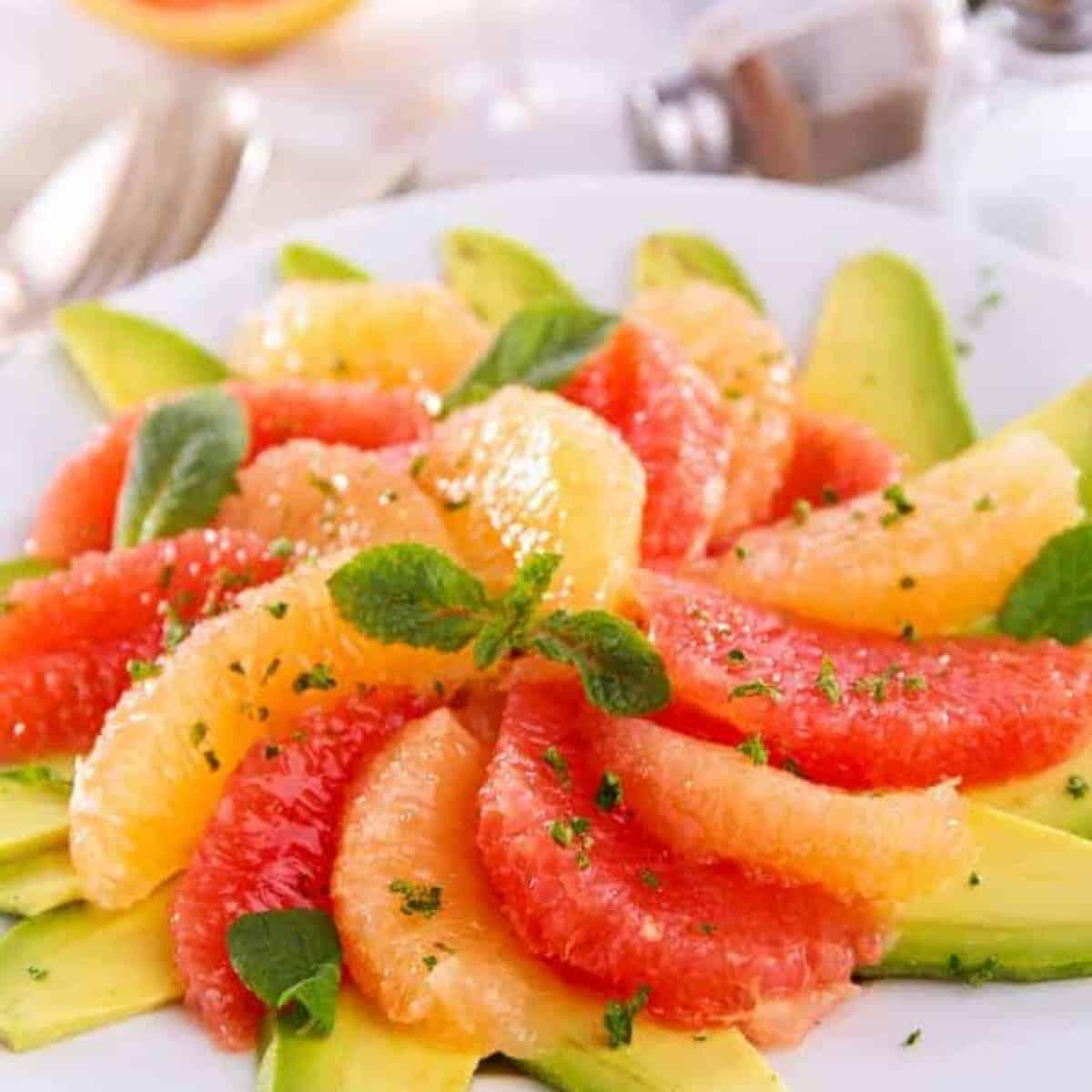 Grapefruit Avocado Salad Recipe