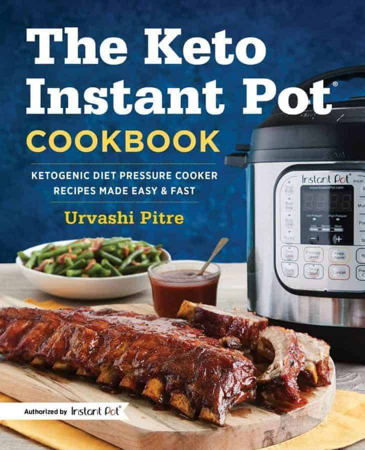 The only authorized Keto Instant Pot cookbook