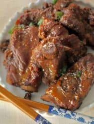 Instant Pot Keto Chinese Braised Spareribs