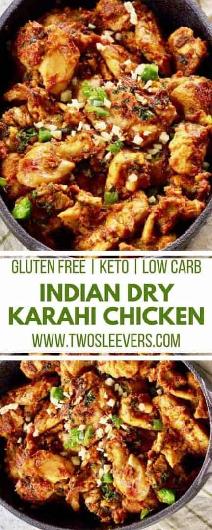 Keto Low Carb Indian Dry Chicken Curry Recipe Two Sleevers