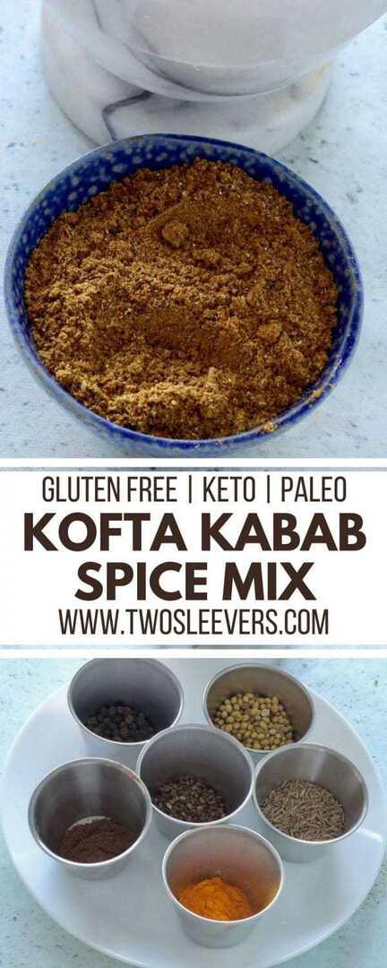 kofta kabab spice mix | Kofta Kababs | Kofta Kabab Recipe | DIY Spice Mix | DIY Spices | Two Sleevers | #koftakababs #diyspices