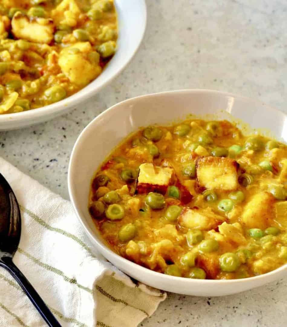 Instant pot indian matar paneer recipe peas and paneer two sleevers make restaurant quality indian peas and paneer or matar paneer in your instant pot or forumfinder Gallery