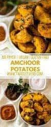 Amchoor Potatoes