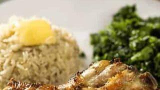 Air Fried Chicken Legs with Cilantro Pesto | Air Fryer
