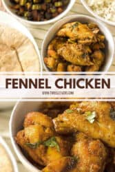 Air Fryer Fennel Chicken