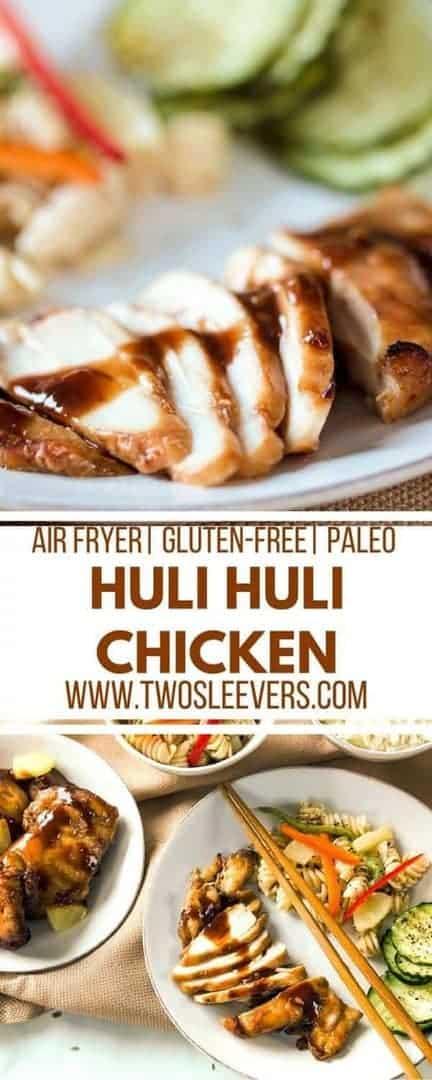 Huli Huli Chicken Air Fryer Hawaiian Grilled Huli Huli Chicken