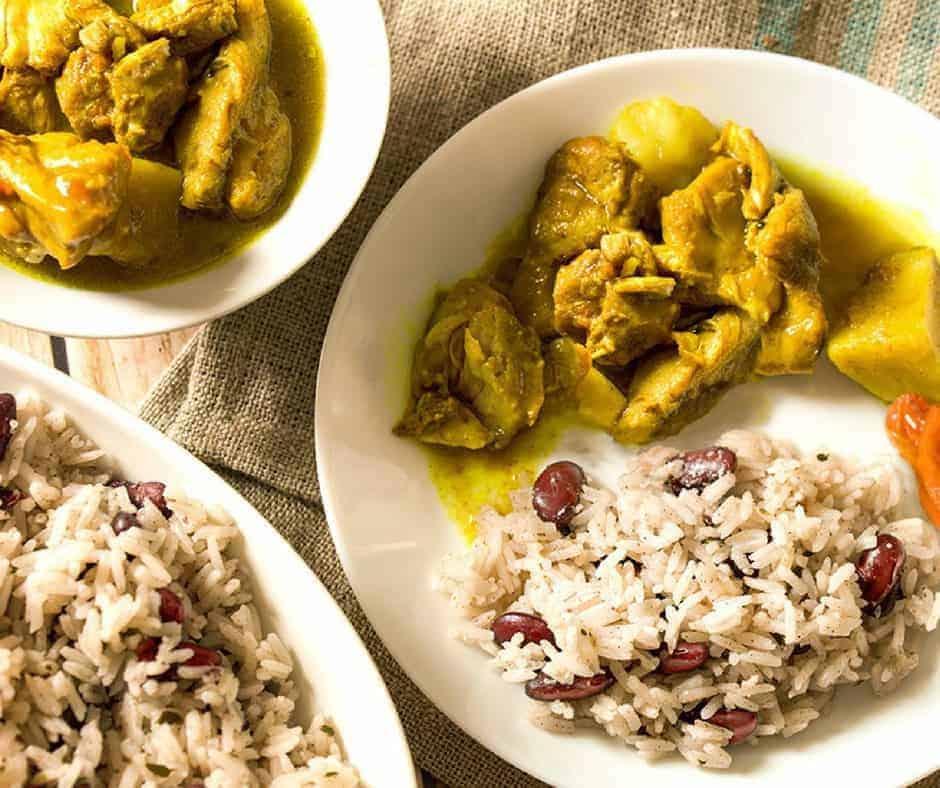 Jamaican Peas and Rice