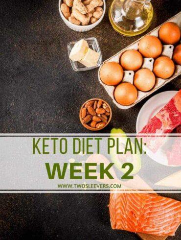 Keto Diet Plan Week 2