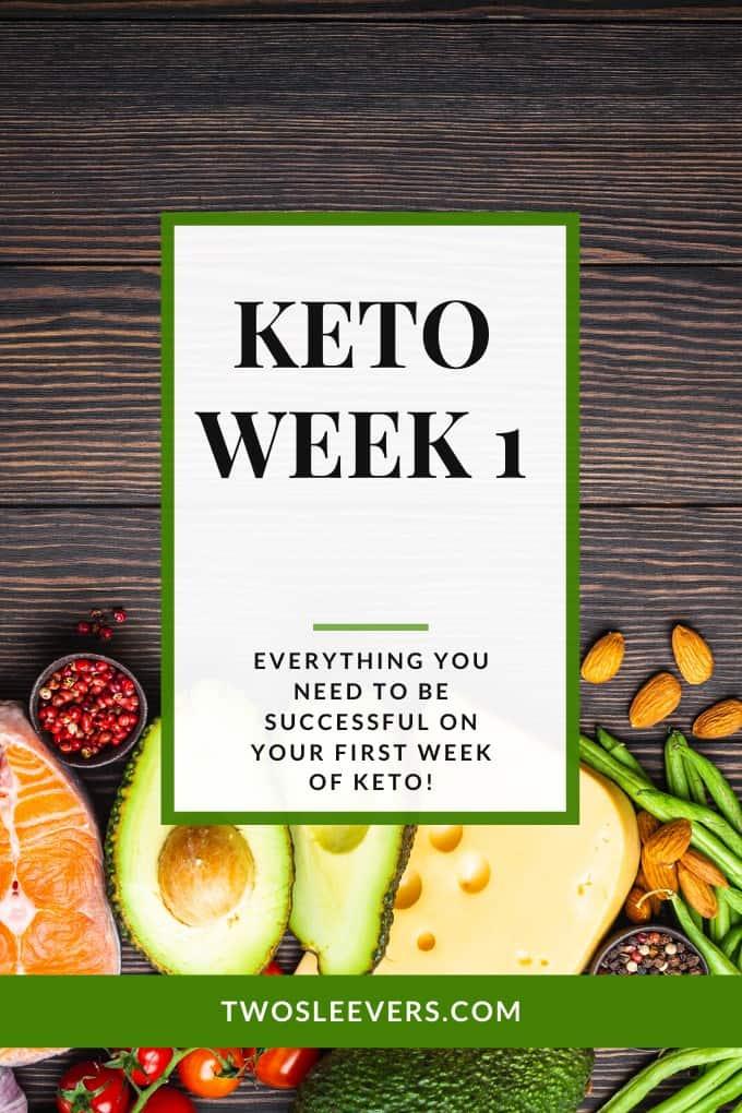 Week 1 Of Keto