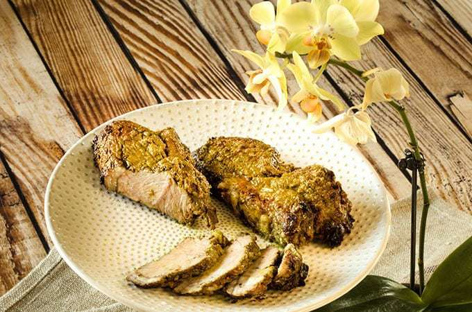 Spicy Lamb Sirloin Steak