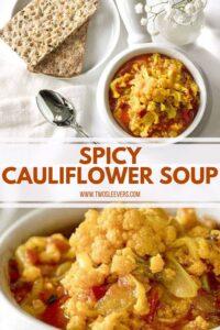 Spicy Cauliflower Soup