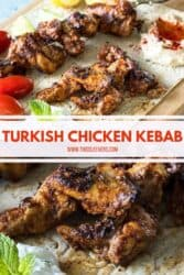 Turkish Chicken Kebab