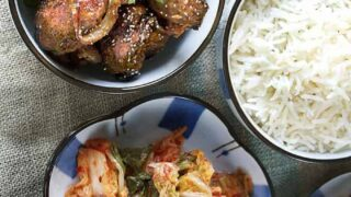 Air Fryer Korean Grilled Pork Dae Ji Bulgogi