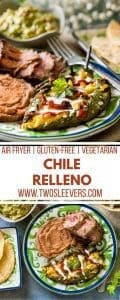 Air Fried Chile Relleno