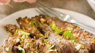 Air Fried Beef Satay