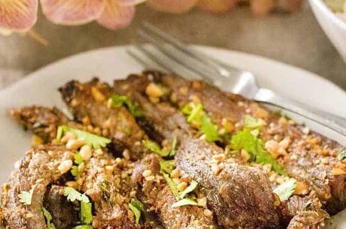 Easy Beef Satay