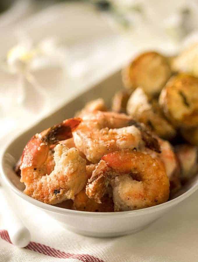 Air Fried Salt and Pepper Shrimp