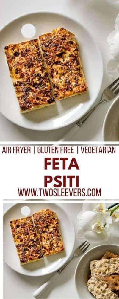 Air Fried Feta Psiti