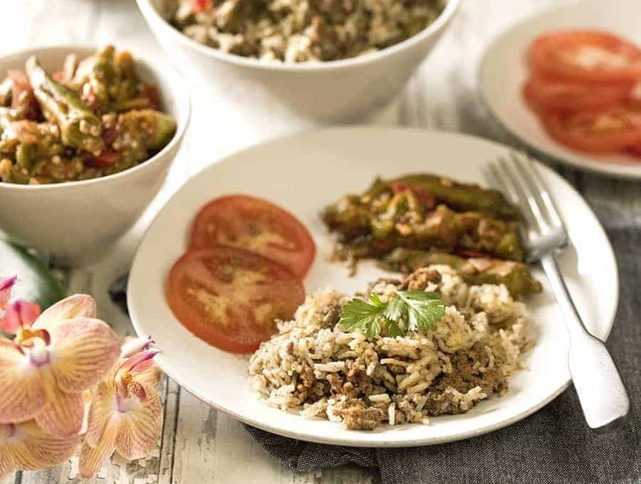 Instant Pot Cajun Dirty Rice