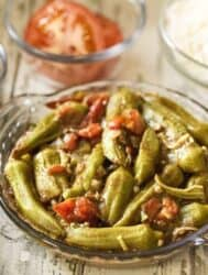 Mediterranean Bamyeh Okra and Tomato Stew Recipe