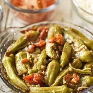 Okra Tomato Stew