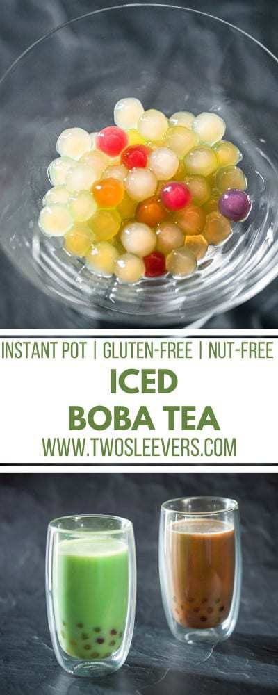 Boba tea is a popular trend across the world, but did you know you can make your own? Use your Instant Pot to makeIced Boba Tea. Easier on the pocketbook and you can control the amount of sugar you put in your homemade Instant Pot Boba Tea. Instant Pot Drink Recipes| Boba tea recipe| Instant Pot Tea|