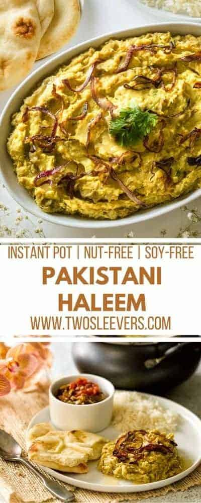 Pakistani Haleem | Instant Pot Pakistani | Instant Pot Comfort Food | Instant Pot International | Haleem Recipe | Pakistani Haleem Recipe | Two Sleevers #instantpotrecipe #Pakistanihaleem