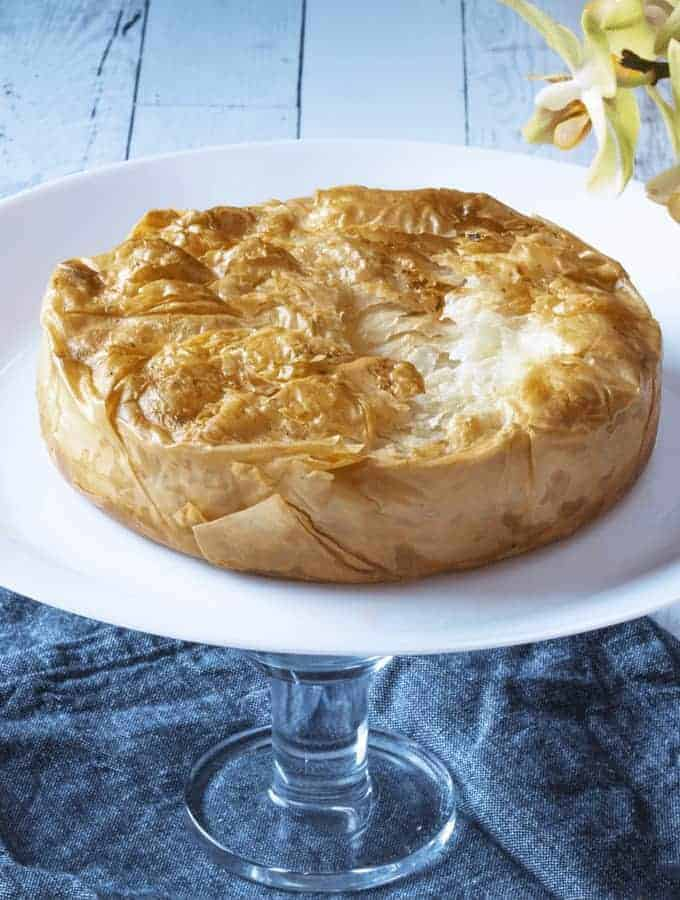 Air Fried Phyllo Brie
