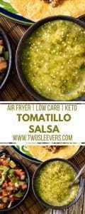 Air Fried Tomatillo Salsa
