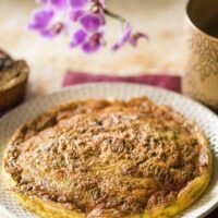 Air Fried Herb and Cheese Frittata