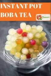 instant pot bubble tea