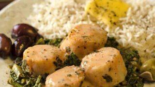 Tomato Basil Scallops | Air Fryer Recipe | Keto Air Fryer Recipe