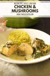 Chicken and Mushrooms Recipe Pinterest 1