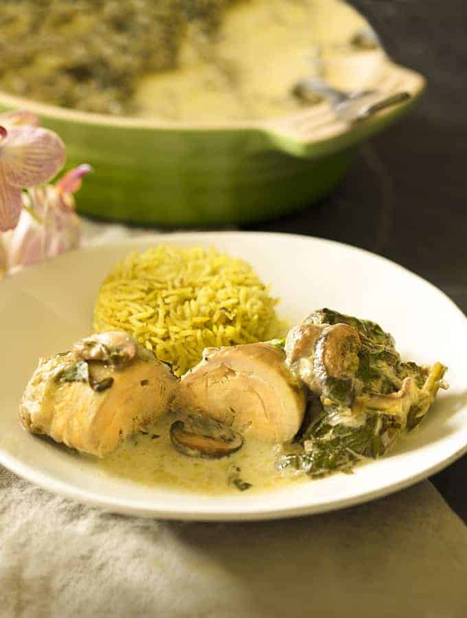 Instant Pot Chicken and Mushroom Recipe