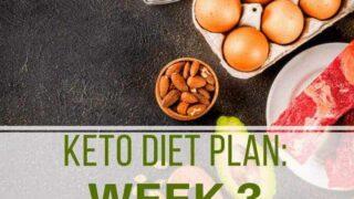 Keto Diet Plan | Week 3