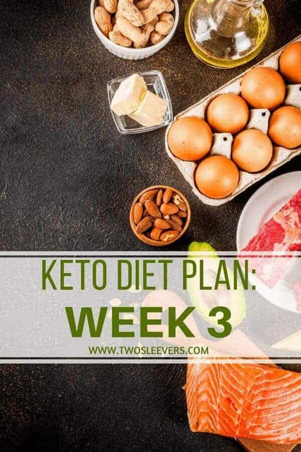 Keto Diet Plan Week 3