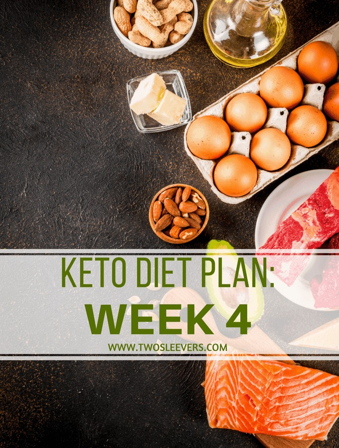 Keto Diet Plan Week 4